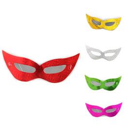 $enCountryForm.capitalKeyWord Australia - Laser Cardboard Mask Creative Dance Half Face Glyptostrobus Multi Color Eye Vizard Mask Universal Factory Direct Sale lin4799
