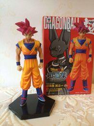 $enCountryForm.capitalKeyWord NZ - NEW hot ! 16cm Dragon Ball Resurrection 'F' golden Frieza battle of gods Son Goku action figure toys doll toy Christmas gift