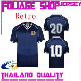 f2918e939 Scotland Soccer Jersey Australia - 1982 Scotland retro soccer jersey home world  cup 82 83 Dalglish