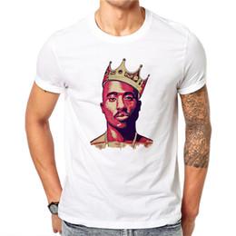c3cbaadc5db0 Men Tupac Makaveli 2pac Print tshirt men Thug Life T-shirt Summer O-Neck  Short Sleeve American Rapper Tshirt camisetas hombre