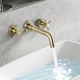 $enCountryForm.capitalKeyWord Australia - 304 Stainless Steel Hot Cold Basin Faucet Brushed Bathroom Sink Faucets Paint Black White Water Tap Single Hole 1 Handle Taps
