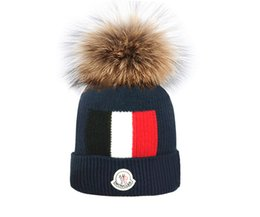 $enCountryForm.capitalKeyWord Australia - Winter Hats for Women Knitted Beanie Hat Cap Wool Brand Hat Female and Male Skullies Couples bobble hats