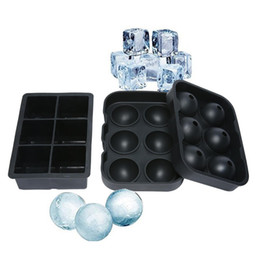 1bbb9d72226fa Silicone Ice Ball Maker Mold Sphere Australia - Large Ice Cube Maker  Silicone Mold 6 Cell