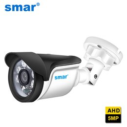 5mp cmos camera Australia - Surveillance Analog Smar Super 5MP AHD Camera SC5239 CMOS 2560(H)*1920(V) Outdoor Waterproof Security Bullet Camera 36 IR LEDS Night