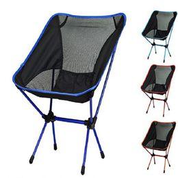 $enCountryForm.capitalKeyWord NZ - Outdoor Folding Chair Portable Fishing Stool Ultralight Camping Festival Picnic BBQ Beach Colors Mix Convenient 65ld F1