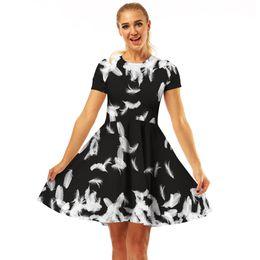 1fdefb5e42 Summer dreSSeS ebay online shopping - 2019 EBay Hot Digital Printing  Crewneck Fashion Comfort A word