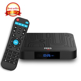 android tv free movie UK - 2019 Best Android Tv Box Amlogic s905w M9S W1 2GB 16GB WiFi Lan 4K Free Movies streaming Cutsom Logo television Media Box Better H96 MAX T9