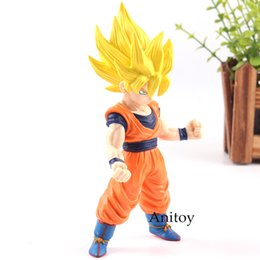 Action Figures Goku Super Saiyan Australia - Dragon Ball Z Statue Super Saiyan 2 Son Gokou DBZ Action Figure PVC Super Saiyan Goku Toy Collection Model Toys