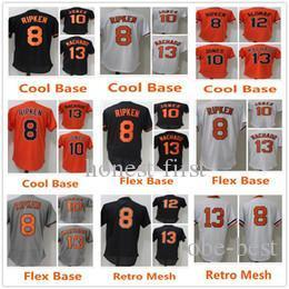 b4a80d4a7 Baltimore 13 Manny Machado 8 Cal Ripken Jr. Jersey 10 Adam Jones 12 Roberto  Alomar Baseball Jerseys