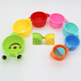 swim cup Australia - Children's Fun Bug - shaped Folding Cups Baby Puzzle Toys For Bathing On The Beach Baby Educational Folding Bathing Beach Swimming Toy
