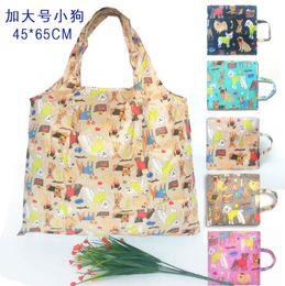 $enCountryForm.capitalKeyWord Australia - 45*65cm Nylon Foldable Shopping Bags Reusable Storage Bag Eco Friendly Shopping Bags Tote Bags Free Shipping