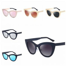 b95635bc14 Oversized cat eye sunglasses whOlesale online shopping - Cat Eye Metal  Frame Sunglasses Women Designer Fashion