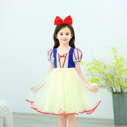 $enCountryForm.capitalKeyWord Australia - 2-9 years little children halloween costume dress snow white ball gown for girls kids christmas party princess tutu skirts
