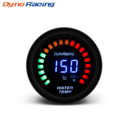 Digital Temp Meter Australia - Dynoracing 52mm 2 Inch LCD Digital Water Temp Gauge With Sensor water Temperature gauge car meter BX101453