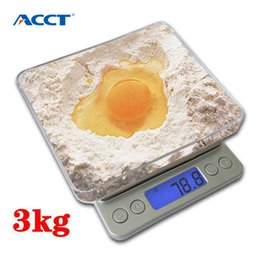 $enCountryForm.capitalKeyWord Australia - 3kg*0.1g Digital Pocket Kitchen Scale High Precision Electronic Weight Food Diet Tea Balance Scales Portable Tool With 2 Tray