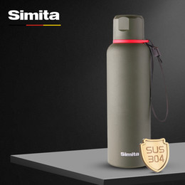 $enCountryForm.capitalKeyWord Australia - Simita 600ml Premium Thermos Double Wall Vacuum Insulated Water Bottle Travel Mug Coffee Cup Camping Flasks Sports Thermomug J190722