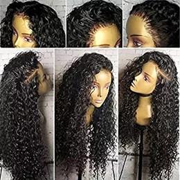Vente en gros 360 Dentelle Frontale Perruque Pré Cueillie Avec Des Cheveux De Bébé 130% Densité Eau Vague Naturel Couleur Remy Brésilien Perruques de Cheveux Humains Pour Les Femmes