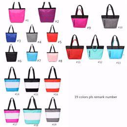 Wholesale shop soccer for sale – custom 19 Colors Pink Black Handbag Shoulder Bag Classic Portable Shopping Bags Fashion Pouch for Women Ladies Tote