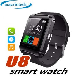 $enCountryForm.capitalKeyWord Australia - 1 PCS Bluetooth Smartwatch U8 Watch Smart Watch Wrist Watches for iPhone 4 4S 5 5S Samsung S4 S5 Note 2 Note 3 HTC Android Phone Smartphones
