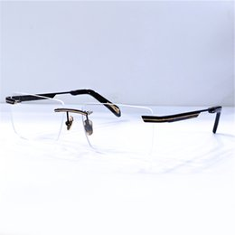 myopia glasses mens Australia - Mens Fashion Eye Transparent Glasses Clear Glass Eyeglasses Myopia Presbyopia Prescription Optical Spectacle Frames ACADEMIC