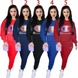 $enCountryForm.capitalKeyWord Canada - Women Champions Tracksuit Autumn Winter Long Sleeve Hoodies Pants sports pants hooded Sweatshirt 2 pcs Set Sportswear Sports Top Clothes