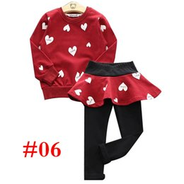 $enCountryForm.capitalKeyWord UK - BABY DESIGNER GIRLS lace Patchwork Sweatshirts Top + Pants trousers girls children' s 2pcs Tracksuits 7COLORS CHOOSE FREE SHIP