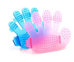 $enCountryForm.capitalKeyWord Australia - XU0318 2019 Hot 1 pcs Silicone Pet brush Glove Gentle Efficient Pet Grooming Glove Dog Bath Cat cleaning Supplies Pet Glove Dog Accessories