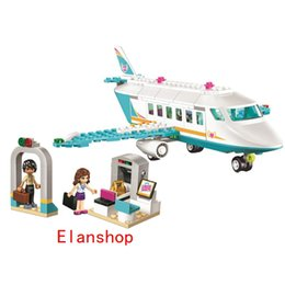 Blocks Plane Australia - Girl Friends Series SY807 Heartlake Private Jet Building Block Plane Brick Olivia Matthew Compatible Toys Gifts