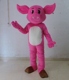 $enCountryForm.capitalKeyWord NZ - 2018 Factory direct sale pink pig mascot costume suit for adults to wear for sale