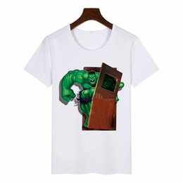 japanese female clothing NZ - 2019 New Summer Women's T-Shirt Hulk Graphic Tees Women Japanese Harajuku T-Shirt Anime Female Tops Aesthetic Clothes
