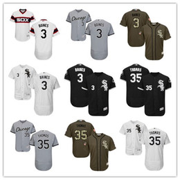 d05dd896 2019 Chicago #35 Frank Thomas 3 Harold Baines men#WOMEN#YOUTH#Men's  Baseball Jersey Majestic stitched professional White Sox