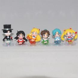 Top new Toys online shopping - Sailor Moon Figure Tsukino Usagi Figma Ami Mizuno Model Per Set Top Quality Collection New Arrival fw D1
