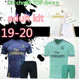 Wholesale Thai top Real Madrid ASENSIO soccer jerseys adult kits KROOS ASENSIO MODRIC JAMES BALE ISCO football shirts
