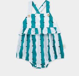 $enCountryForm.capitalKeyWord UK - baby kids designer clothes romper Summer Sleeveless Stripped Suspender Romper Clothes 100% cotton girl kid rompers 0-2T