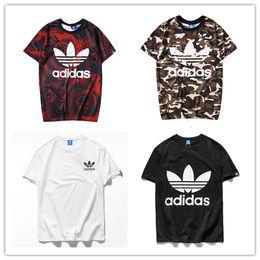 Vente en gros Printemps 2019 DG nouvelle marque d'été adi T-shirt à manches courtes graffiti mode hommes T-shirt