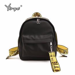 $enCountryForm.capitalKeyWord Australia - Ybyt Brand 2018 New Preppy Style Letter Panelled Women Backpack Girl Schoolbag Ladies Small Travel Bag Student School Backpacks MX190816