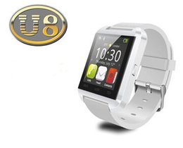Android 5.1 Smart Watch NZ - Bluetooth Smartwatch U8 U Watch Smart Watch Wrist Watches for iPhone 8 8S 5 5S Samsung S8 S5 Note 10 Note 9 1 Android Phone Smartpho OTH018