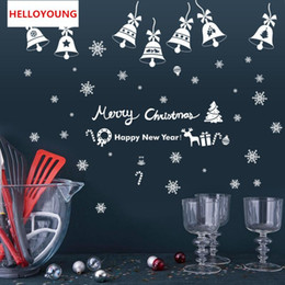$enCountryForm.capitalKeyWord UK - Creative personality Christmas bells Wall Stickers Home Decorative Waterproof Wallpapers