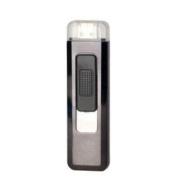$enCountryForm.capitalKeyWord NZ - New Mini Colorful Plastic USB Cyclic Charging Lighter Windproof Portable Innovative Design For Cigarette Bong Smoking Pipe DHL