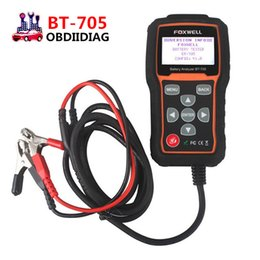 Engine Starting Systems Australia - FOXWELL BT705 BT-705 Battery Analyzer Check Battery Health Detect Faults of Starting & Charging System