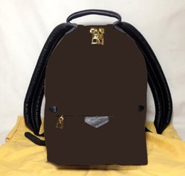 palm products NZ - Brown Flower MO. PALM SPRINGS BACKPACK PM M41560 or COTTON BAG , Customer Designate Product