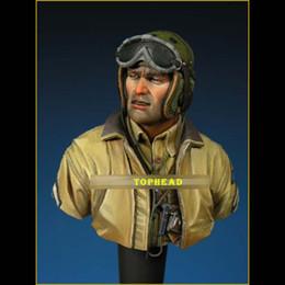 $enCountryForm.capitalKeyWord Australia - TOP QUALITY 1 10 Bust Resin Figure Model Kit US TANK CREW Europe WWII Soldier Unassembled unpainted