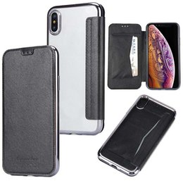 $enCountryForm.capitalKeyWord NZ - Shockproof Wallet Case For Iphone XS Max XR 7 Premium Flip Cover Case With Card Slot For Samsung Galaxy S7 Edge Note 9 S9 Opp Bag