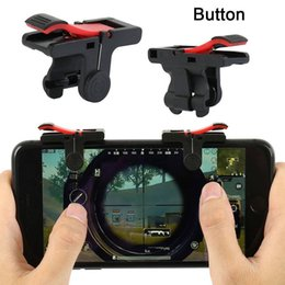 Smart mobile gameS online shopping - D9 Gaming Trigger Fire Button Aim Key Smart Phone Mobile Game L1R1 Shooter Controllers For PUBG