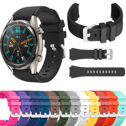 $enCountryForm.capitalKeyWord Australia - Sport Silicone Strap Bracelet Replacement for for Huawei Watch GT Rubber Band Watchband 22mm
