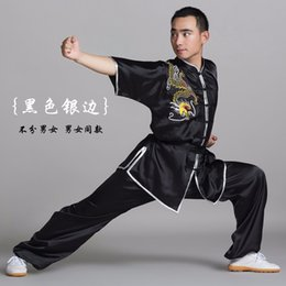 $enCountryForm.capitalKeyWord Australia - Chinese wushu uniform Kungfu clothing Fighter suit taichi sword clothes Dragon embroidered for men women boy girl kids