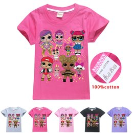 4468de5db Kid Surprise Girl T Shirt Summer Cotton Tees Round Neck Short-Sleeved T-Shirt  Boys Children Outwear Top Clothing AAA1982
