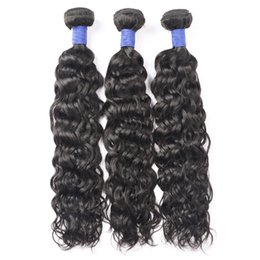 kinky waves 2019 - New 10A Brazilian Water Wave Human Hair Bundles 3 4 Bundles Deals Kinky Curly Indian Remy Human Hair Extensions Deep Bod