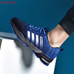 $enCountryForm.capitalKeyWord Australia - Classic Mesh Sneakers Men's Casual Shoes Fashion Lace-up Walking Training Male Shoe Tenis Masculino Adulto Plus Size 2019