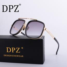 82e29aa0f1 2019 Hot Brand hombres gafas de sol mujeres retro cuadrado Steampunk UV400  de alta calidad gafas protectoras ditas marcas de lujo con caja